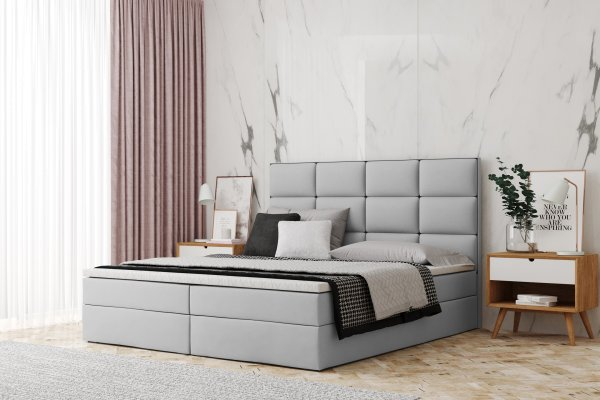 Boxspringbett Houston Box - Konfigurator - mit Raster Design