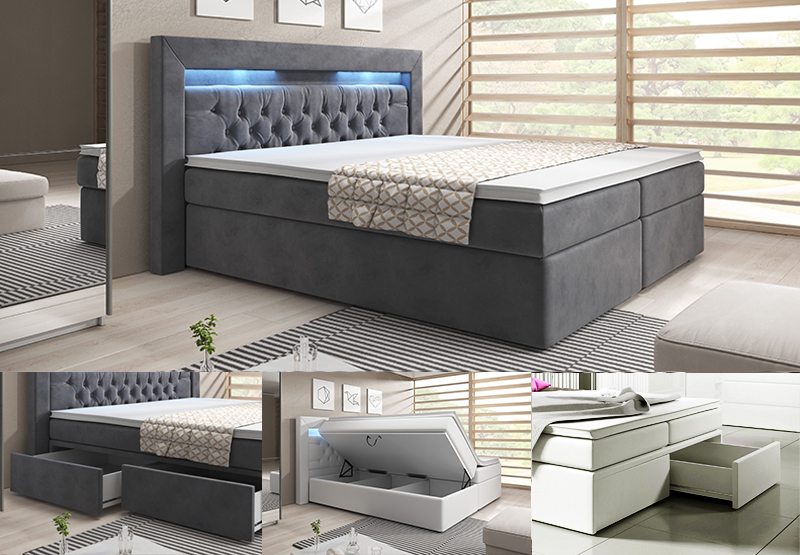 boxspringbett york konfigurator mit bettkastenschublade online kaufen bei. Black Bedroom Furniture Sets. Home Design Ideas
