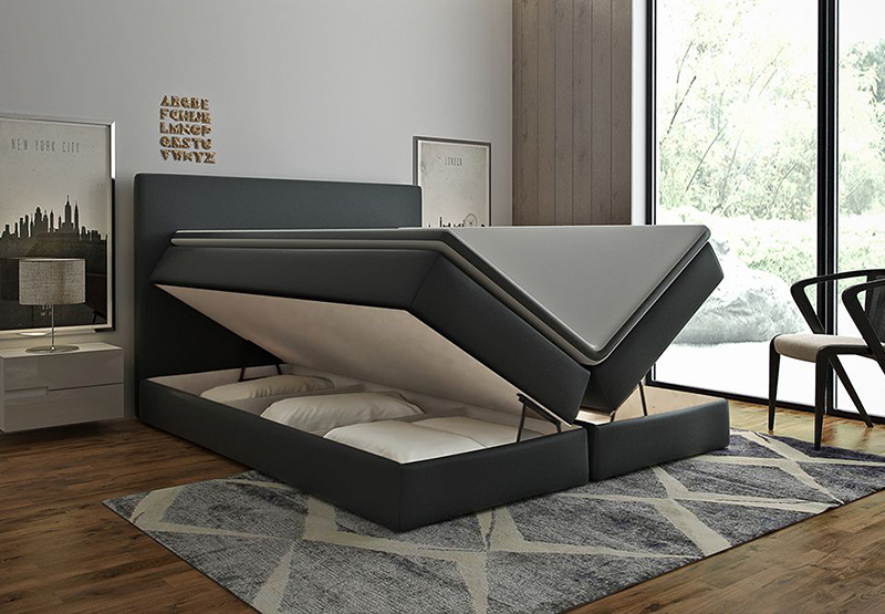 mit dem boxspringbett konfigurator online kaufen bei designer. Black Bedroom Furniture Sets. Home Design Ideas