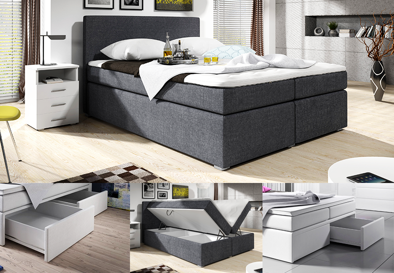 boxspringbett konfigurator mit stoffbezug online kaufen. Black Bedroom Furniture Sets. Home Design Ideas