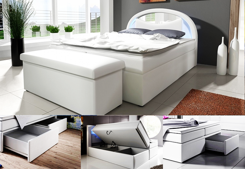 boxspringbett konfigurator mit bettkastenschublade online. Black Bedroom Furniture Sets. Home Design Ideas