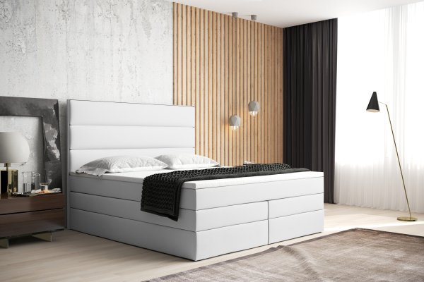 Boxspringbett Seattle Max Box - Konfigurator - mit Linien Design