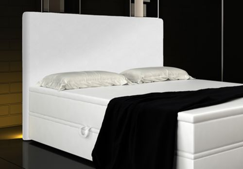 boxspringbett rio 180x200 mit liftfunktion und led kopfteil ebay. Black Bedroom Furniture Sets. Home Design Ideas